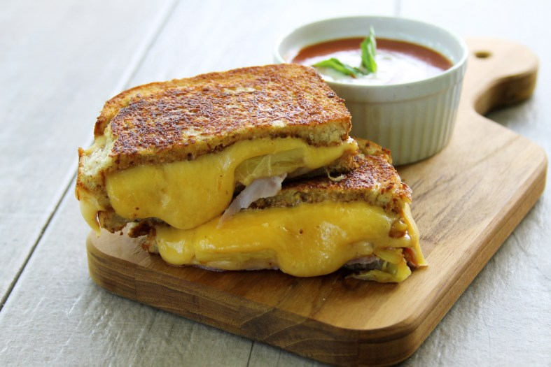 Aloha Grilled Ham And Cheese Sandwich