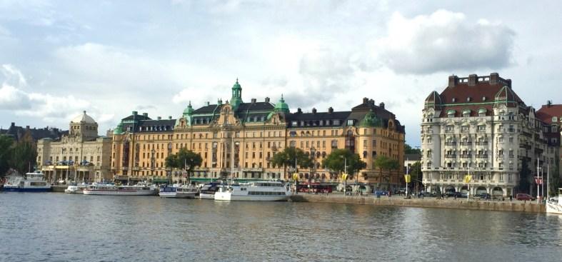 View of Strandvägen in Stockholm