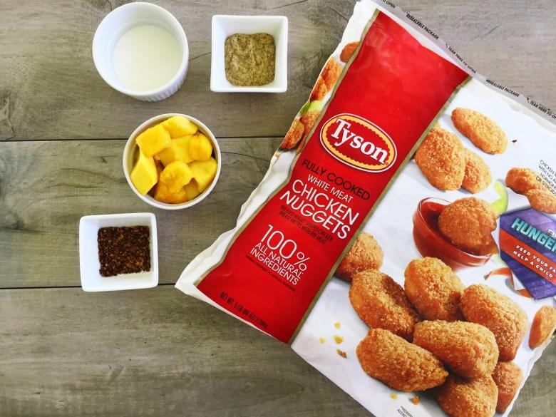 Tyson chicken nuggets pic1