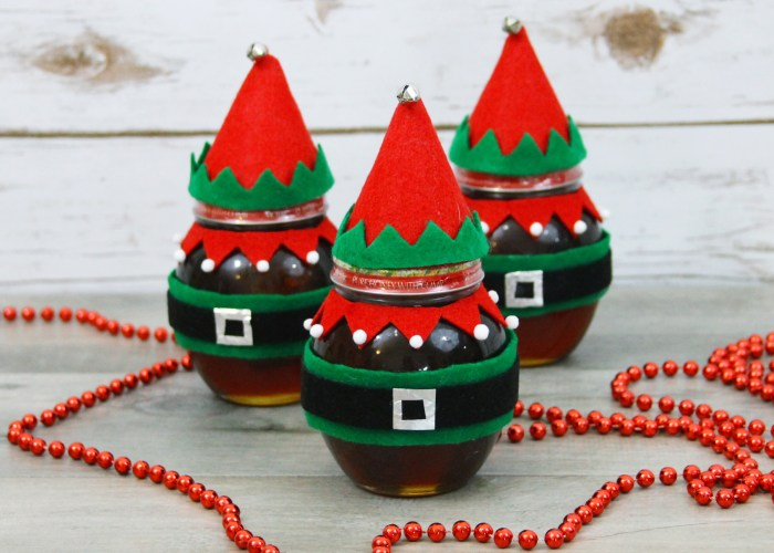 Fun DIY Elf Honey Jars: A Great Holiday Gift Under $15