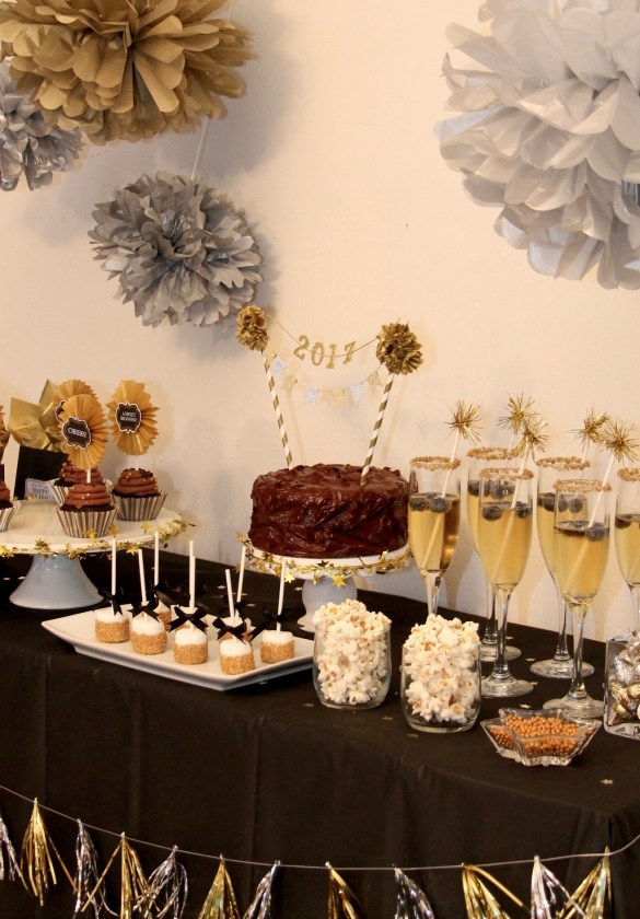 Easy Silver And Gold New Years Party Ideas Growing Up Bilingual