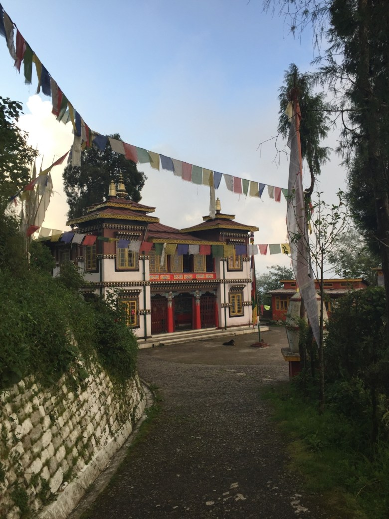 Bhutia Busty Gompa in Darjeeling India