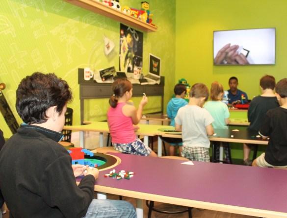 Master builder class at Legoland hotel