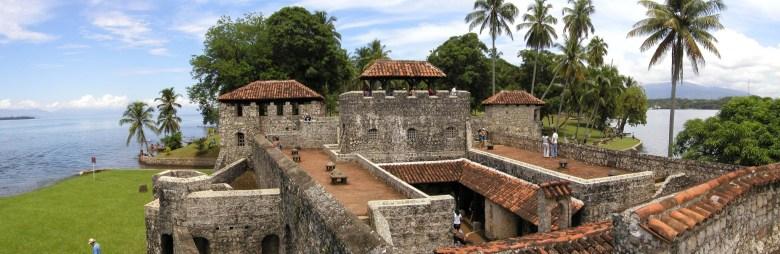 Castillo de San Felipe de Lara in Rio Dulce Isabel Guatemala
