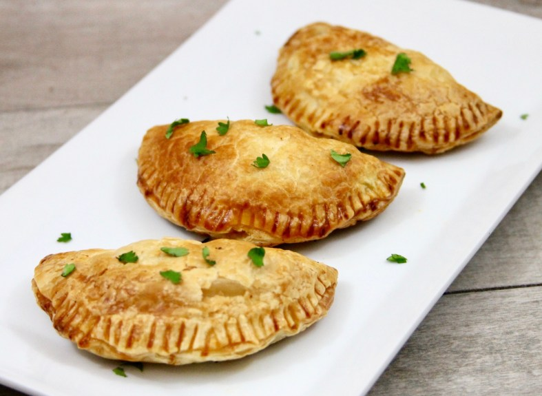 Chilean lamb and beef baked empanadas