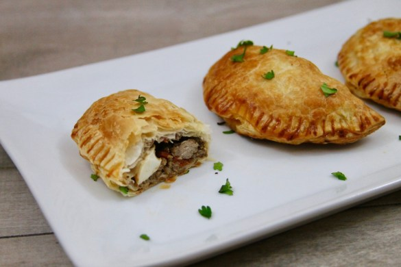 lamb and beef baked empanadas