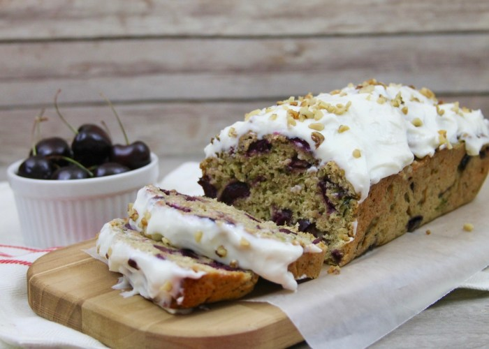 5 Ingredient Carrot and Zucchini Bread With Cherries