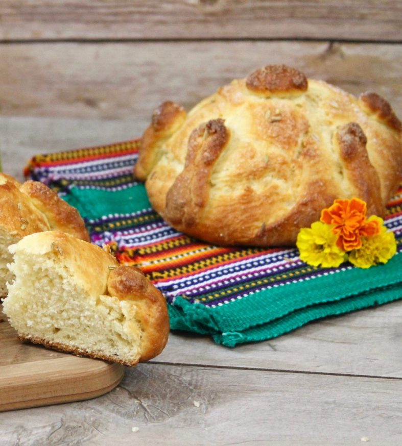Pan de muerto recipe
