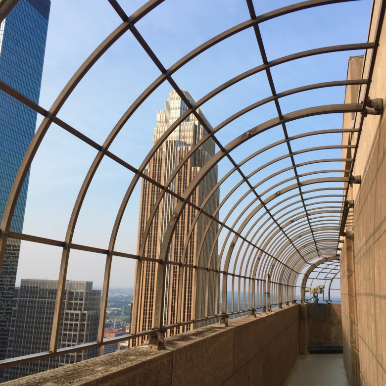 Observation deck at the Foshay