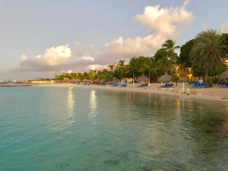 beach at Sunscape Resort Curacao