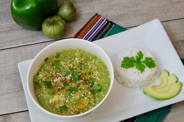 Pollo en Jocón (Tomatillo Chicken Stew) Recipe From Guatemala