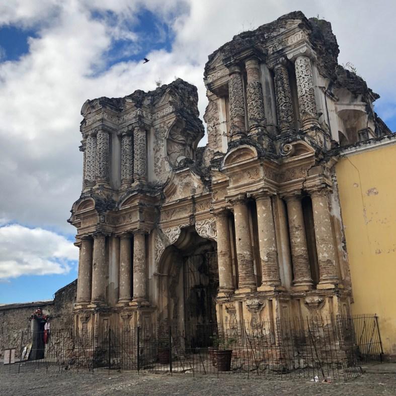 Antigua Guatemala colonial ruins