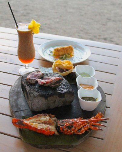 Panga's Beach Club restaurant Tamarindo beach