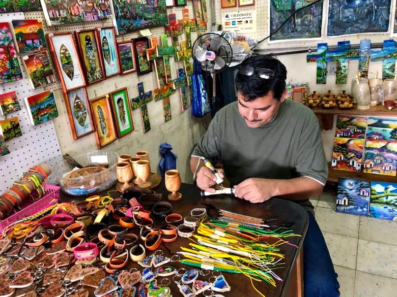 handmade crafts in Nicaragua