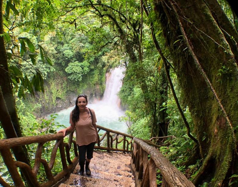Costa Rica Rio Celeste waterfall hike