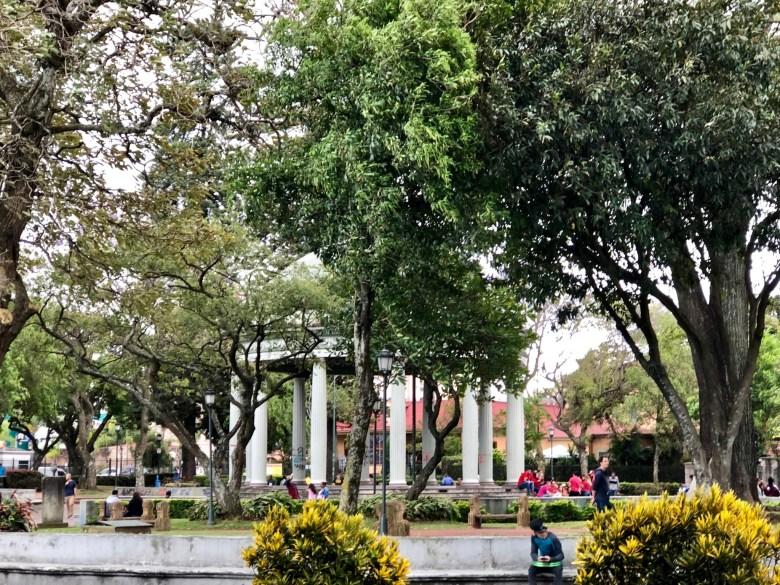 Parque Morazán in San José Costa Rica