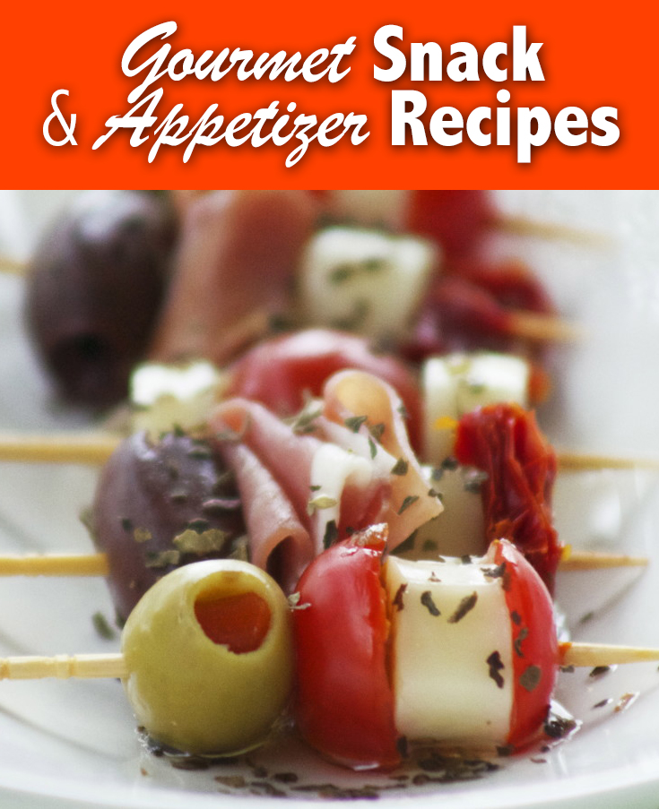Gourmet Snack & Appetizer Recipes