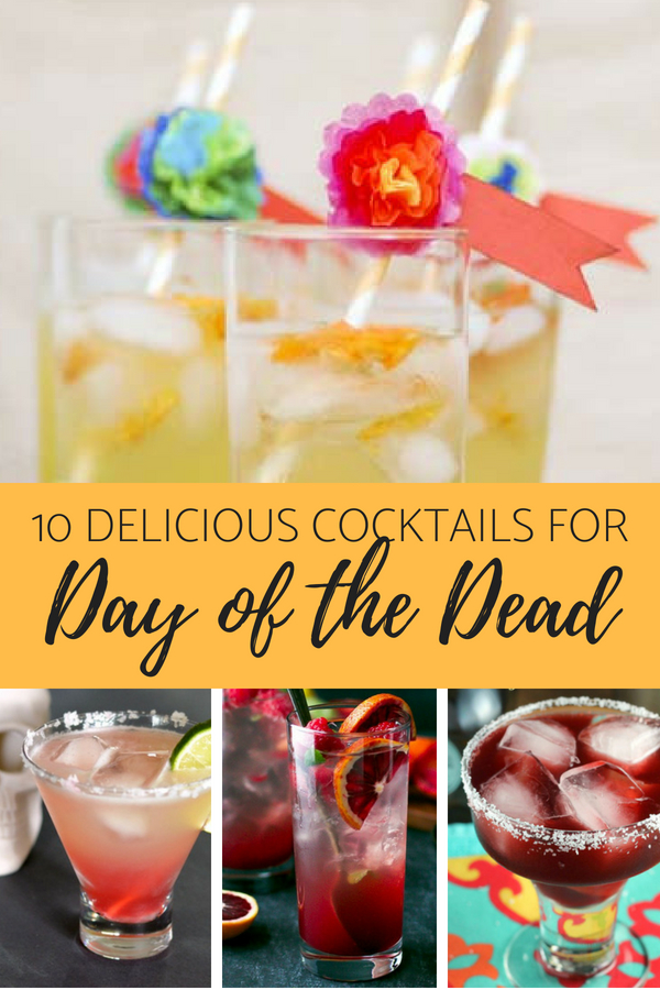 10 Fantastic Cocktails for Your Day of the Dead Celebration