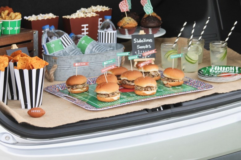 tailgating party food ideas