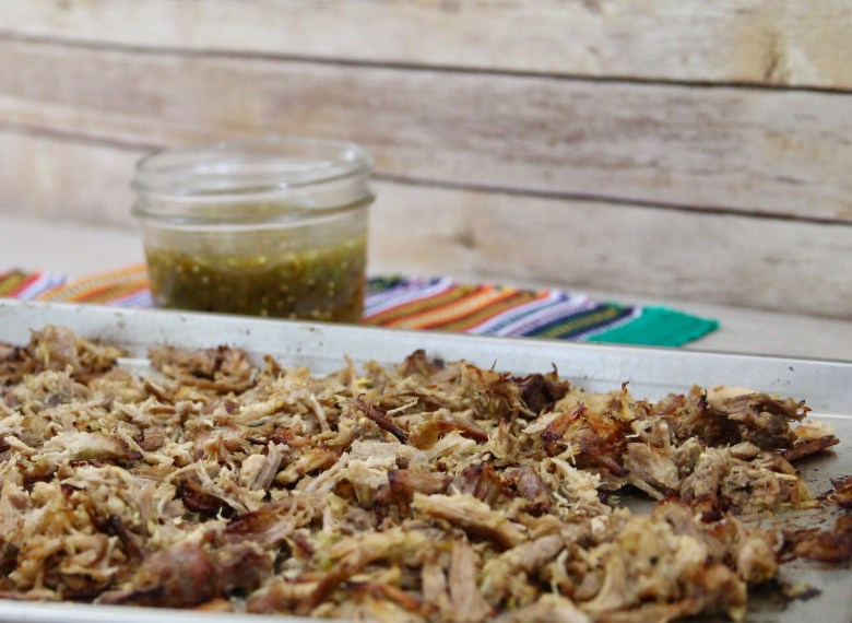 Instant Pot Tomatillo Pork Carnitas Taco Recipe