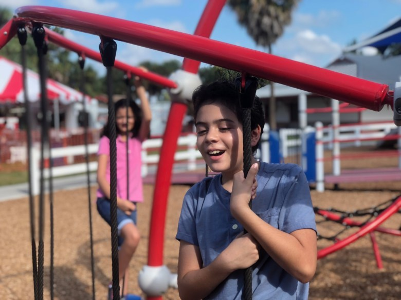 The importance of inclusive playgrounds and why they're good for communities