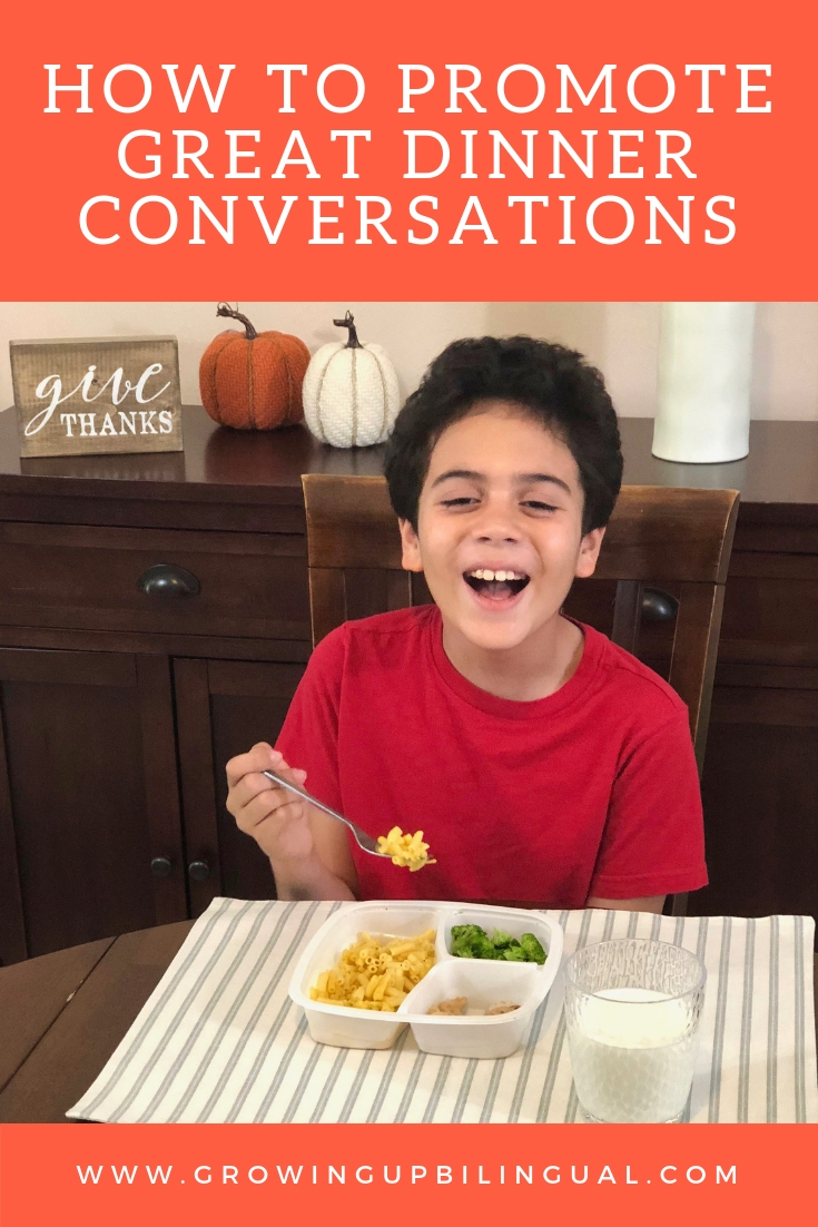 How to Have Great Dinner Conversations With Your Kids