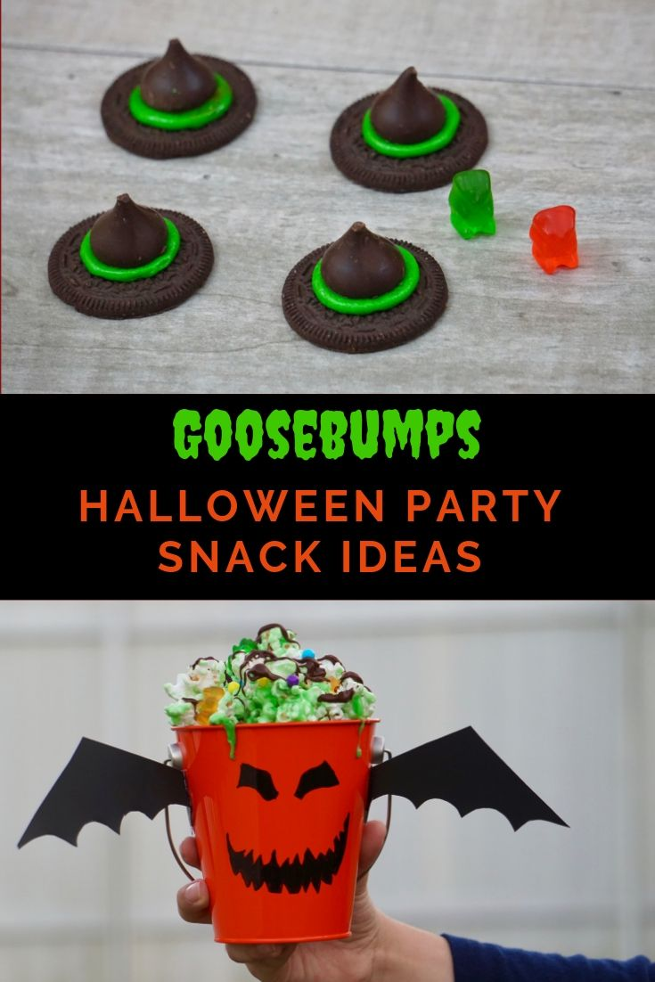Goosebumps inspired Halloween party snack recipes and ideas