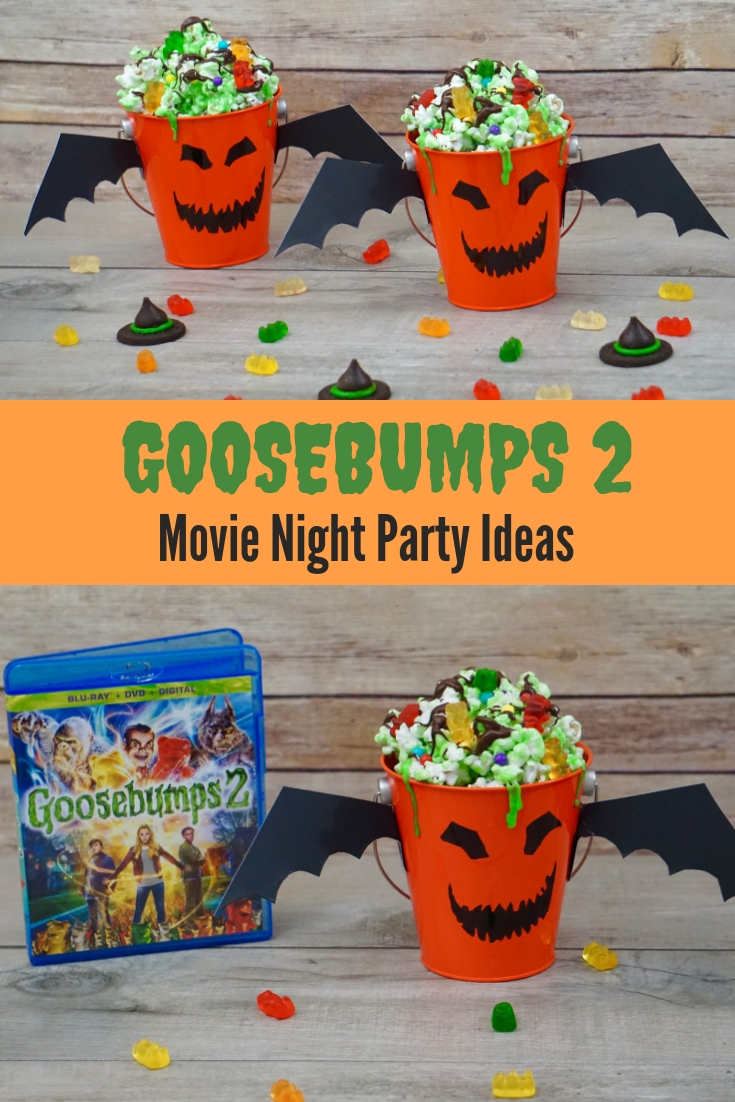 Goosebumps 2 Movie Night Party Ideas
