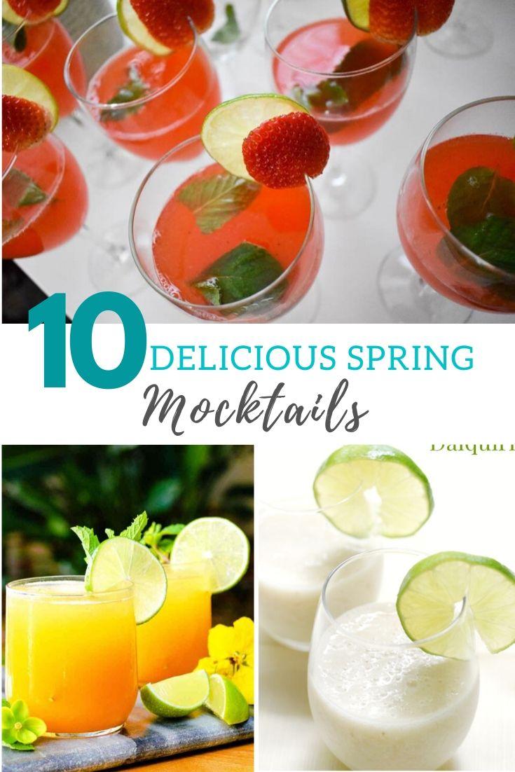 10 Delicious Spring Mocktails