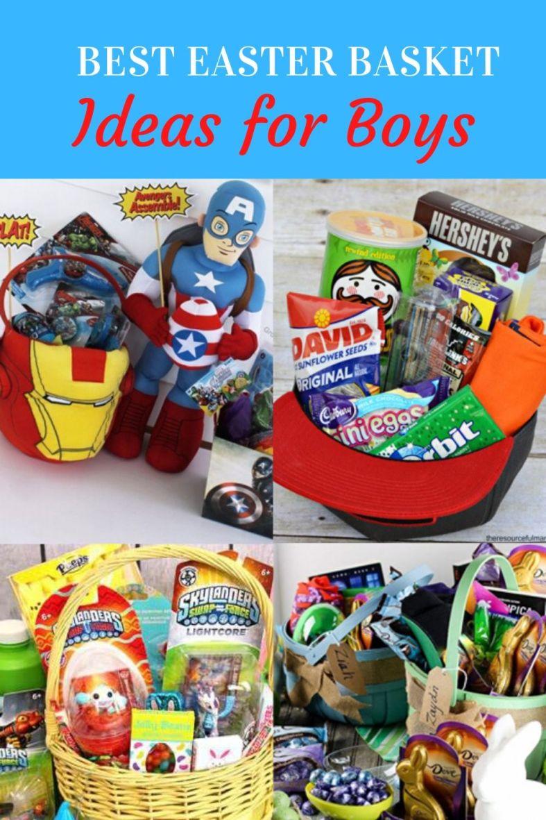 Best Easter Basket Ideas for Boys