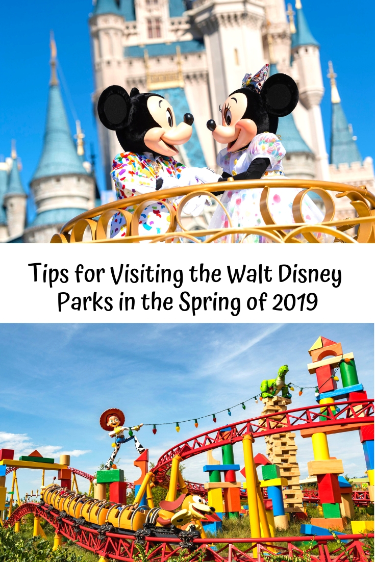 Tips for Visiting the Walt Disney Parks in the Spring of 2019