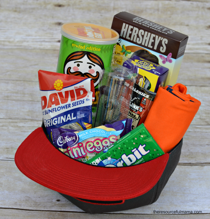Hat Easter Basket and lots of fun Easter basket ideas for boys