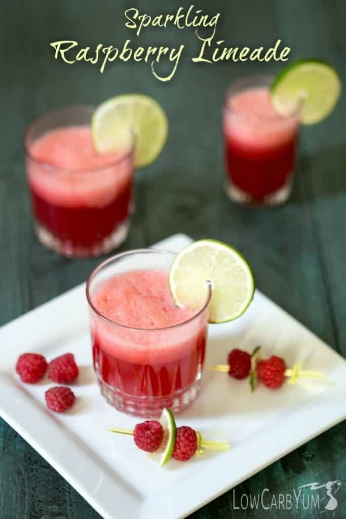 Sparkling Raspberry Limeade mocktail and more non-alcoholic drink recipes for your Easter celebration