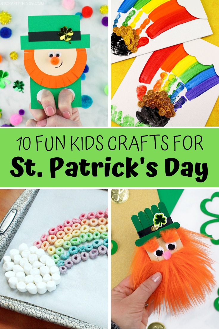 Easy and creative St Patrick's Day Crafts for kids
