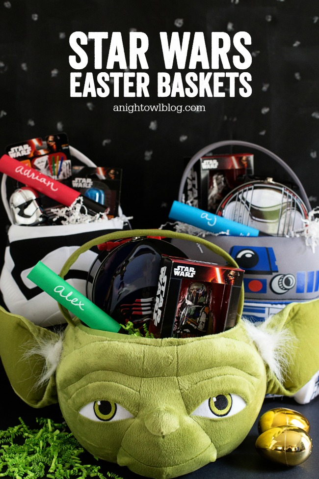 Star Wars Easter Baskets and lots of fun Easter basket ideas for boys