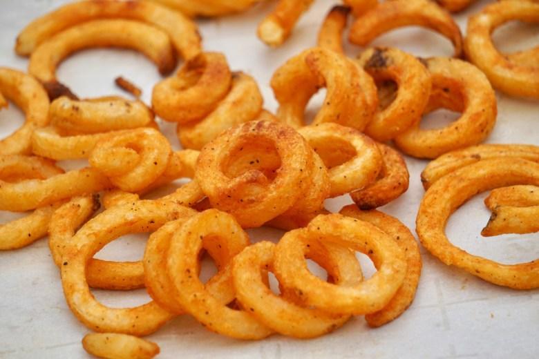 seasoned Curly fries