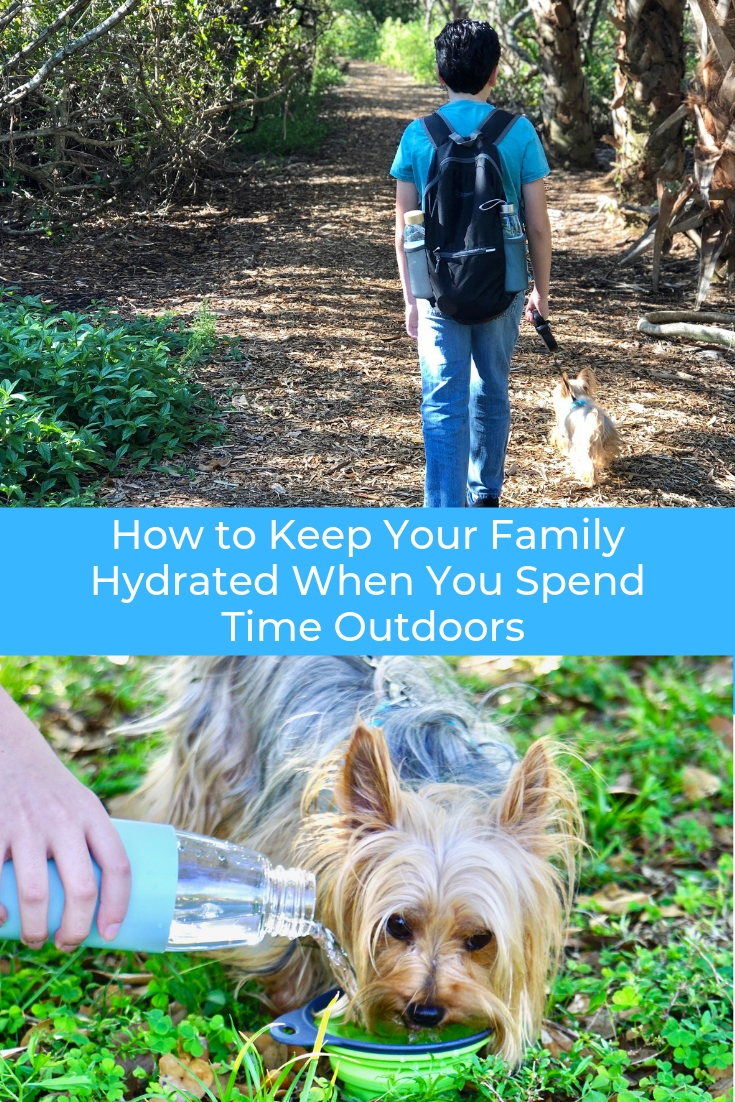 How to Keep Your Family Hydrated When You Spend Time Outdoors