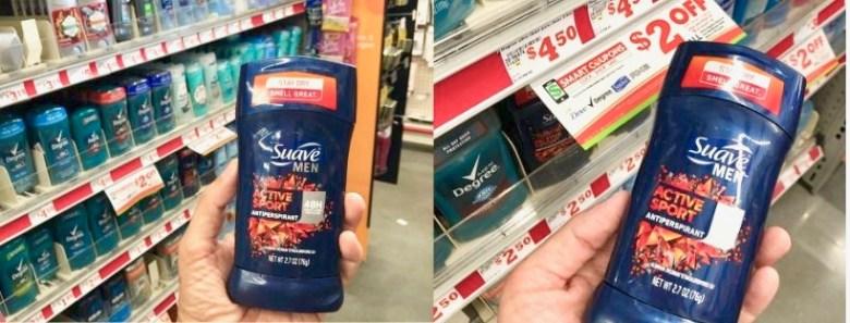 Suave Mens Antiperspirant Deodorant