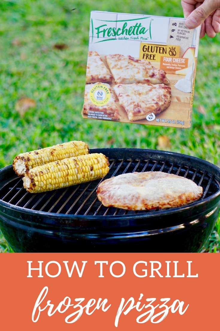 How to grill Frozen Pizza