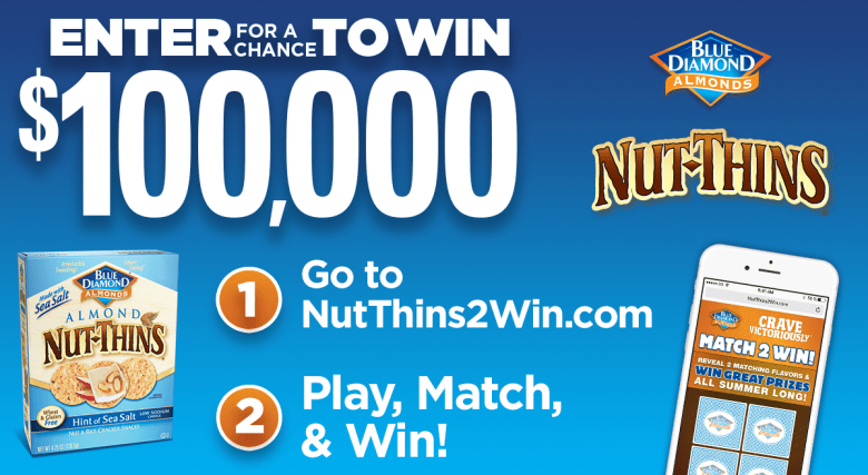 Nut-Thins giveaway sweepstakes