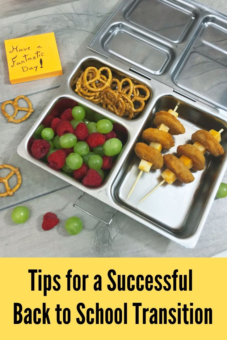 Tips for a Successful Back to School Transition