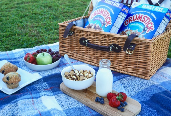 breakfast picnic and other fun summer breakfast ideas