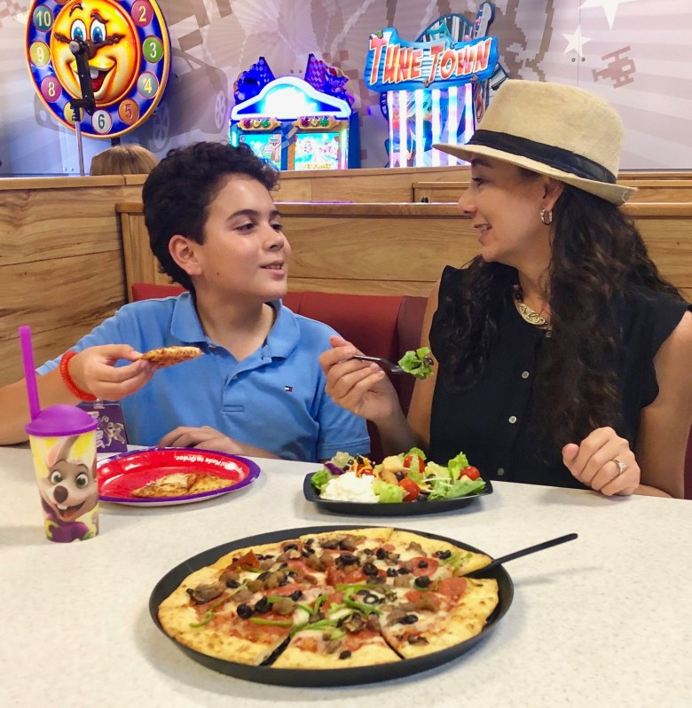 Remodeled Chuck E. Cheese Has Something for Everyone