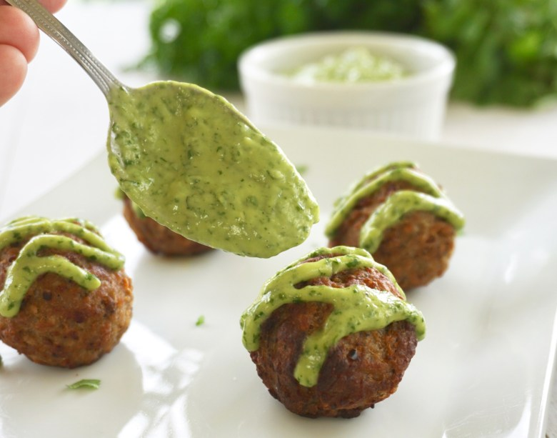 Avocado Chimichurri Sauce