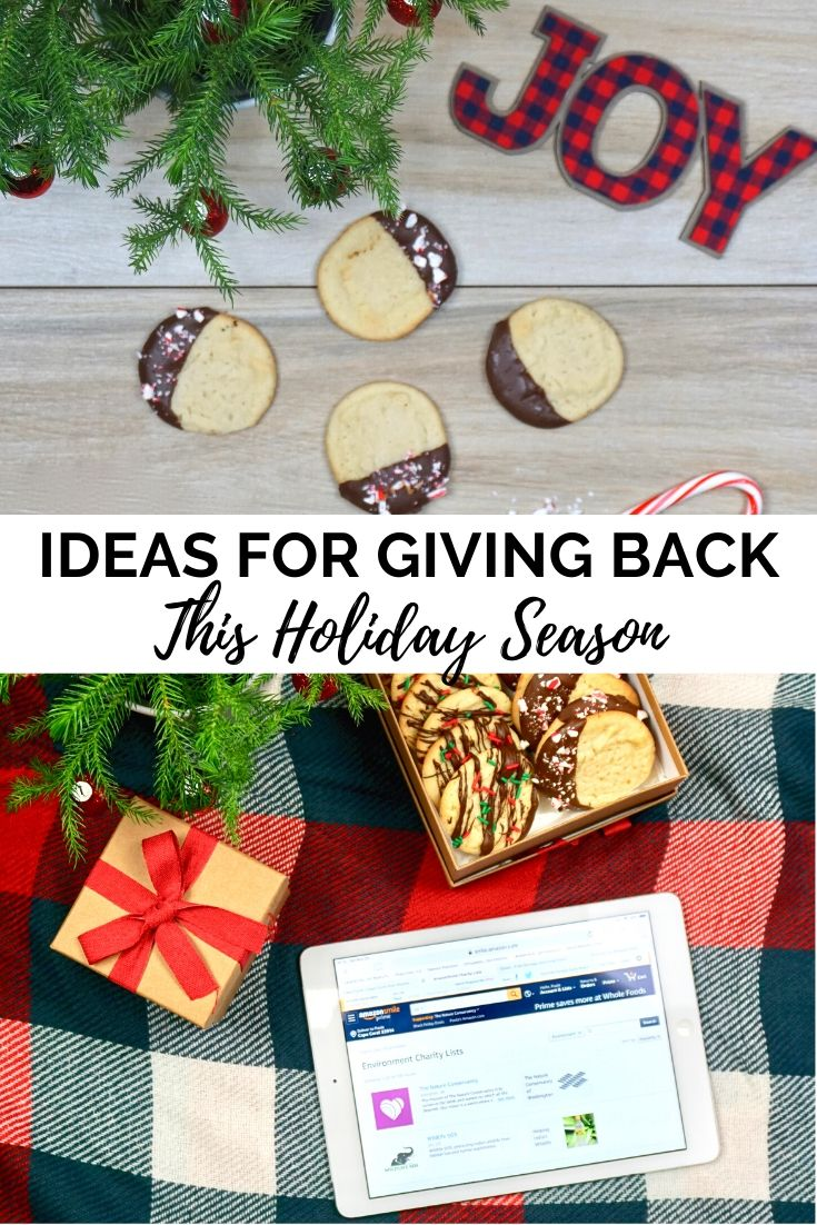 Giving Back this Holiday Season with Amazon Smile