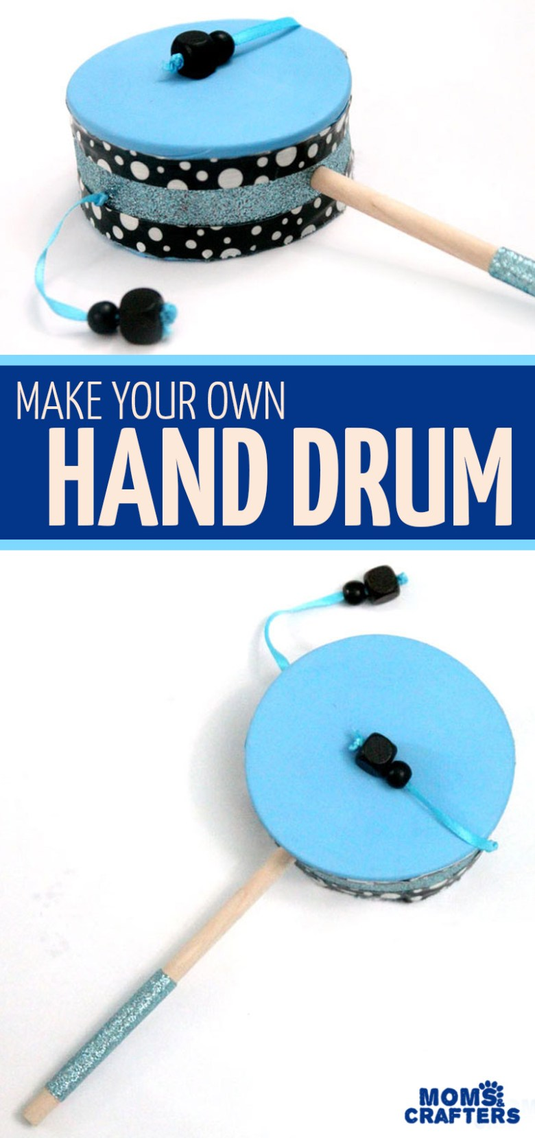 DIY Hand Drum and other Carnaval crafts for kids