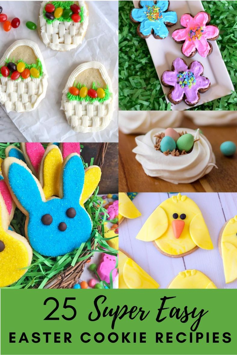 25 Cute and Easy Easter Cookie Recipes