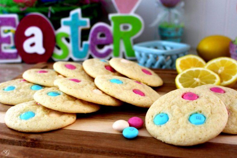 Easter Lemon Drop Cookies