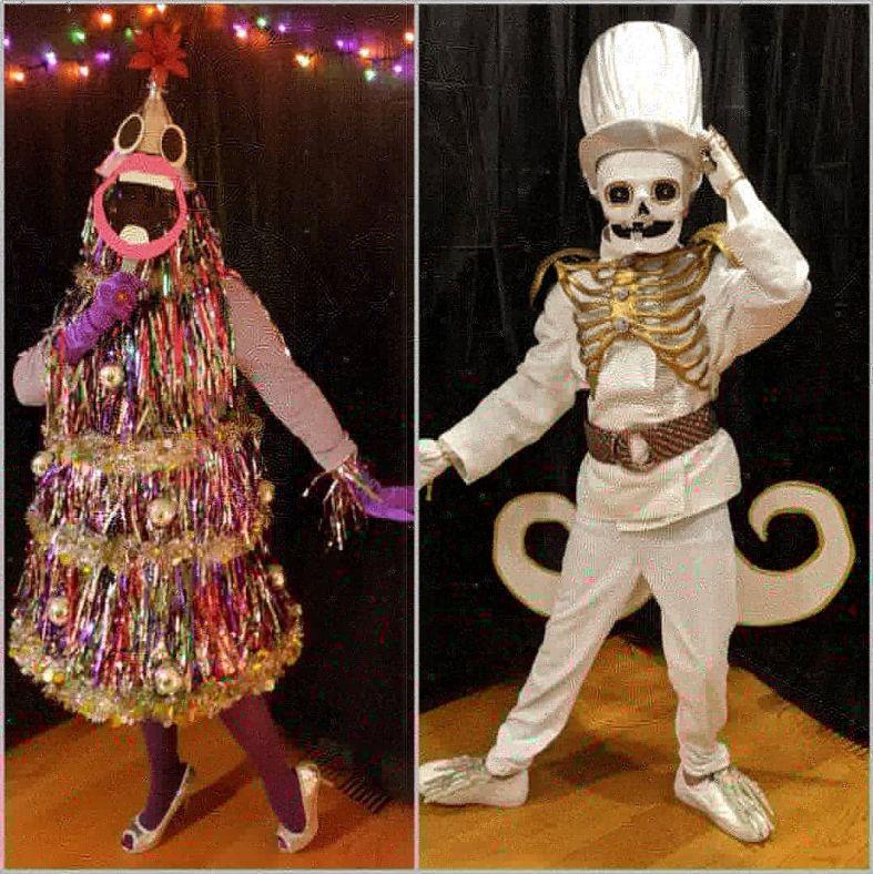 The Masked Singer DIY costumes