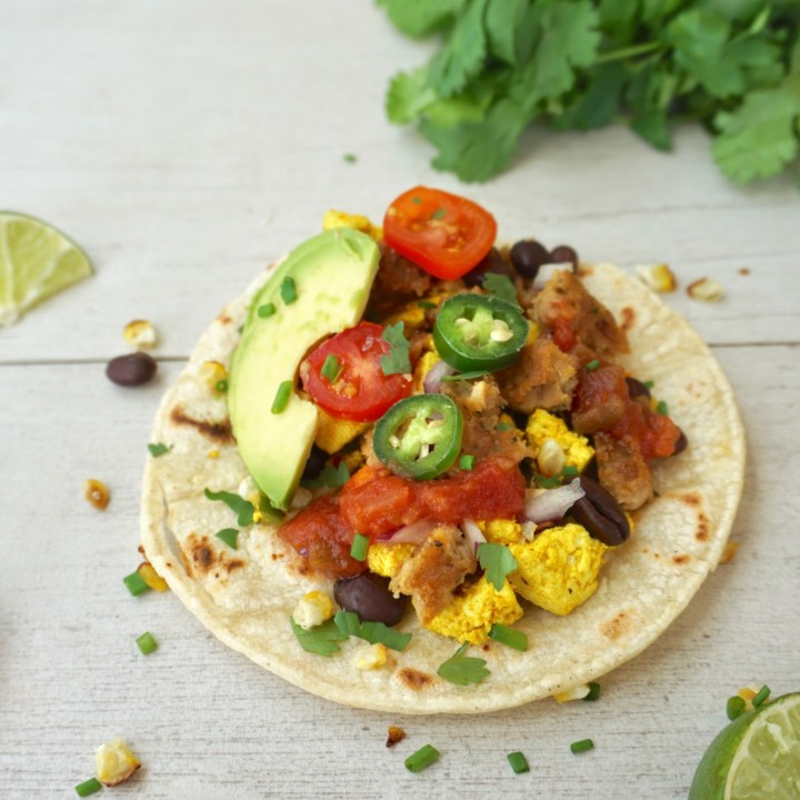 The best vegan breakfast tacos